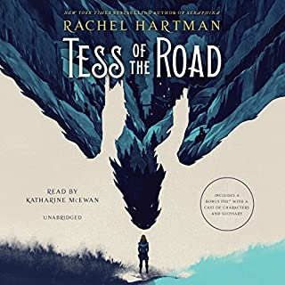 Tess of the Road audiobook cover art