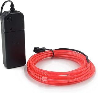 Cables EL Cables de neón con luz de neón Batería de alto brillo Electroluminiscencia Controladores con