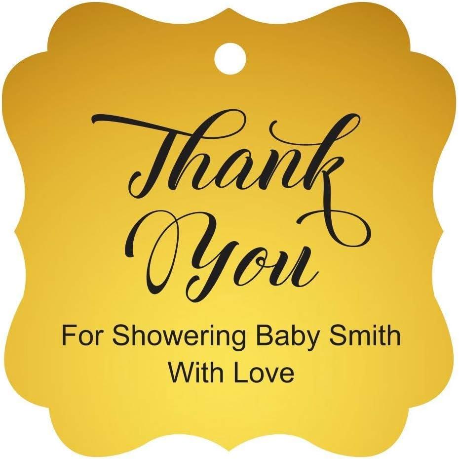 Darling Souvenir Baby Shower Thank Our shop San Francisco Mall most popular you Tags Custom Hang Gi Favor