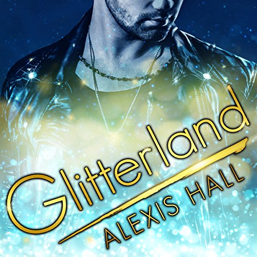 Glitterland audiobook cover art
