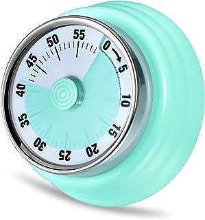 comprar comparacion LAOPAO Temporizador de Cocina, Temporizador de Cuenta Regresiva magnético mecánico de 1 Hora No Requiere batería Reloj con...