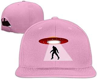 ZYXcustom UFO Bigfood High Heel Snapback Unisex Adjustable Flat Bill Visor Dad Hat