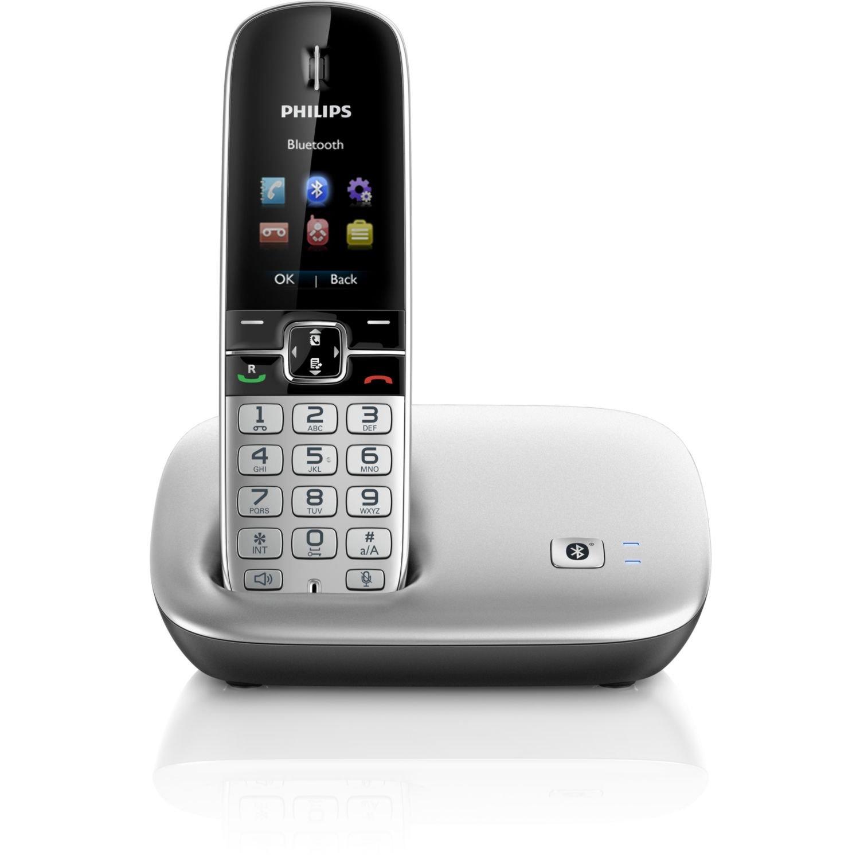 Philips S8A/34 - Teléfono fijo analógico (inalámbrico, Bluetooth), negro: Amazon.es: Electrónica
