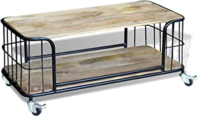 Homescapes Columbus Large Coffee Table Cum Tv Unit With