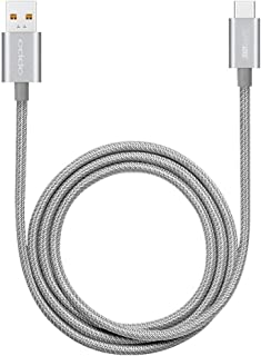 Cable Oppo SuperVooc USB type-C Support charger 50w / 65w Cable integrated metal silver
