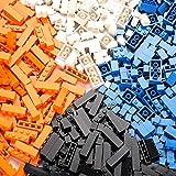 クラシックビルディングブロックおもちゃ| 500クリエイティブパーツ| 4色| 8種類の仕様| 6歳以上の子供に最適 高性能価格比| 主要な国際ブランドとの互換性| 教育玩具
