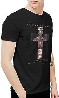 BowersJ Aretha FranklinアメージンググレースThe Complete RecordingsメンズTシャツブラック