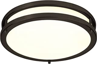 LB72120 LED Flush Mount Ceiling Light, 12 inch, 15W (150W Equivalent) Dimmable 1200lm,..