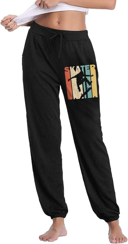 Free shipping Women's Retro Style Skater Athleti Silhouette Sweatpants Jogger Wholesale