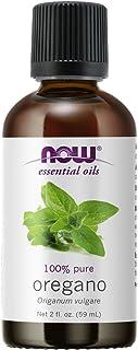 NOW Essential Oils, Oregano Oil, Comforting Aromatherapy Scent, Steam Distilled, 100% Pure, Vegan, Child Resistant Cap, 2-...