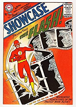 Showcase #4  1st Flash & Silver Age