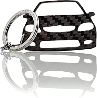 BlackStuff Carbon Karbonfaser Schlüsselanhänger Kompatibel mit Saxo Vts MK2 BS 752