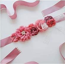 Bride Belt Lace Rose Flower Wedding Girdle Party Dress Accessories