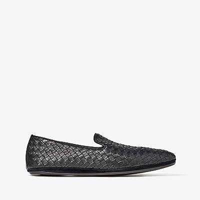 Bottega Veneta Intrecciato Loafer (Black) Men