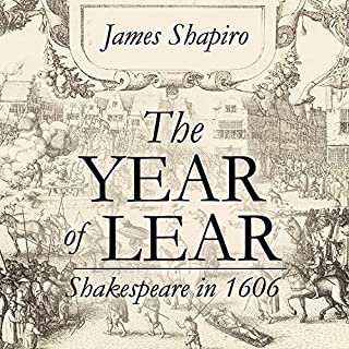 The Year of Lear audiobook cover art