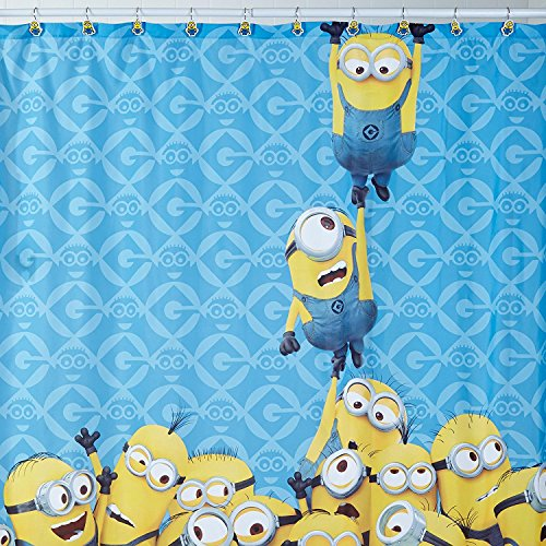 Despicable Me Fabric Shower Curtain