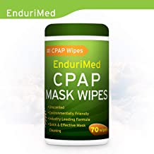 CPAP Wipes (70 Mask Wipes) Unscented, Super Strong, Soft, Lint Free, 100% Skin Safe CPAP Cleaning Wipes – Hygienic Sanitizing Disinfectant Formula - CPAP Cleaning mask Wipes for Home & Travel