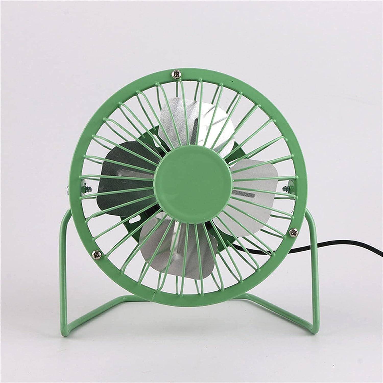 QERNTPEY USB Desk Fan 8 mart Inch Atlanta Mall Desktop Iron Wrought Studen