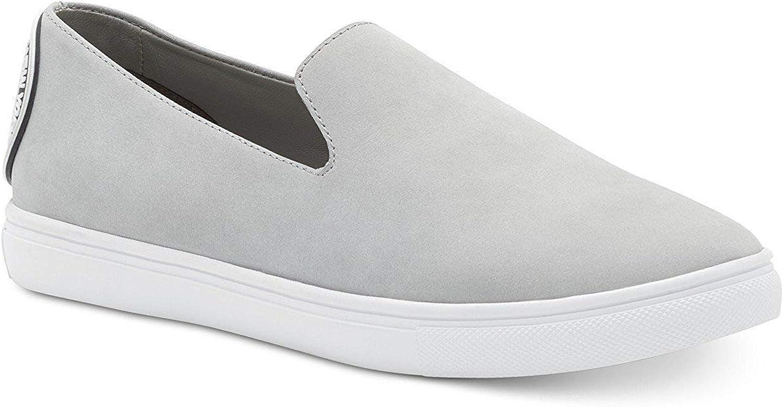 DKNY Womens Jilian Low Top Slip On Fashion Sneakers