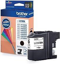 Brother LC223BK - Cartucho de tinta negro (duración estimada: hasta 550 páginas según ISO/IEC 24711)