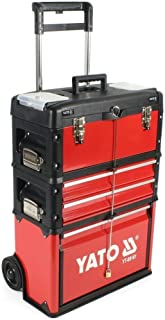 YATO YT-09101 - caja de herramientas carro compone de 3 partes