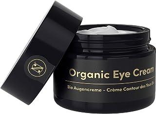 Crema Contorno de Ojos Lifting ORGÁNICA para Bolsas y Ojeras 30ml – Crema Antiarrugas con Acido Hialuronico Aloe Vera Pur...