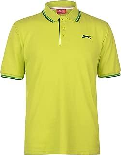 Slazenger Hombre Tipped Camiseta Polo Lima Verde XS: Amazon.es ...