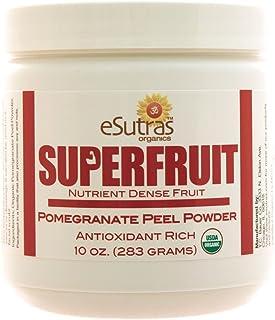 eSutras Organics Pomegranate Peel Powder Superfood, 7 Ounce