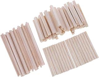 Amazon.es: palos redondos de madera para manualidades
