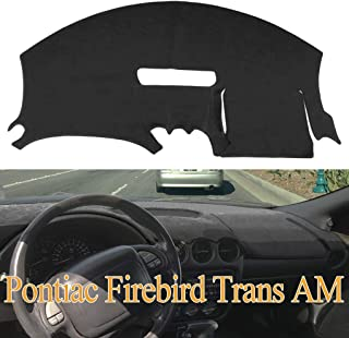Dashboard Cover Dash Cover Mat Pad Custom Fit for Pontiac Firebird 1997-2002 (Black) Y41