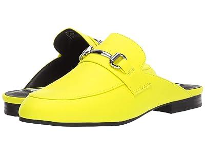 Steve Madden Kandi Slip-On Mule (Yellow Neon) Women