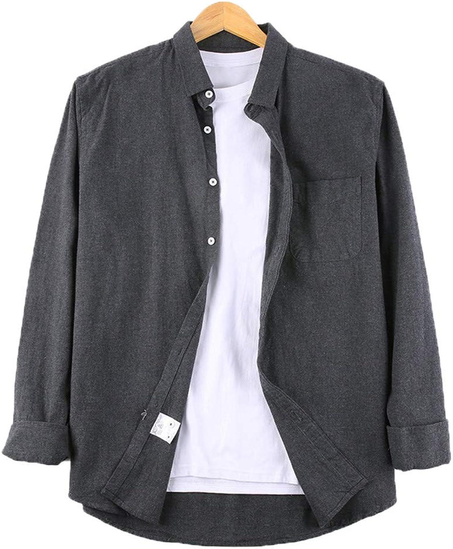 73ea4ce83 HHXWU Shirt T-Shirt Large Large Large Size Male Shirt Long Sleeve Loose Plus  Fertilizer Increase cecb95