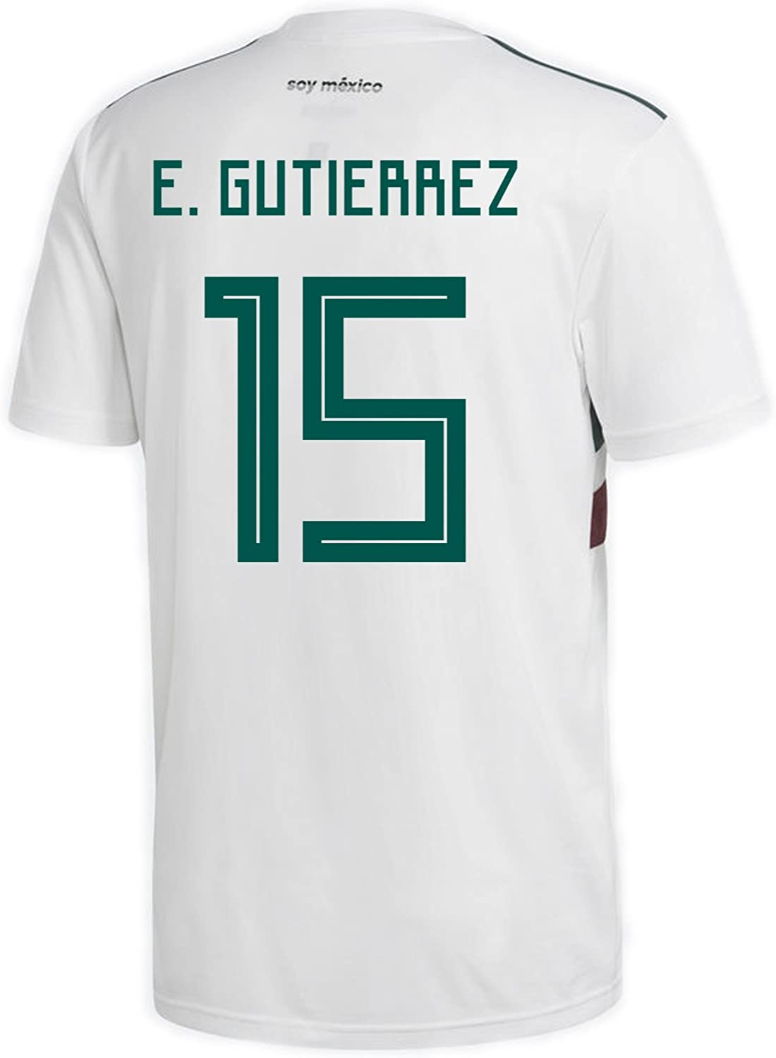 Adidas E. Gutierrez 15Mexiko Away Herren Fuball Trikot World