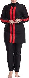 keepmore Musulmano Taglia Grossa Burkini - Modesto Islamico Costume da Bagno Donne Piena Copertura Musulmano Costumi da Ba...