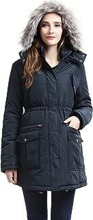 Momo Maternity Outerwear Women's Parker Hooded Puffer Parka Coat Pregnancy Winter Jacket