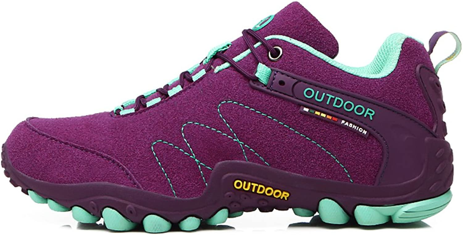 Hiking shoes Women Trekking Outdoor Climbing Sneakers Leather Sport Boots
