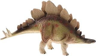 perfeclan Juguete de Animales Prehistóricos de Simulación Modelo de Dibnosuorios Realista Juego de Colecciones Adorno para Hogar Escritorio - estegosaurio