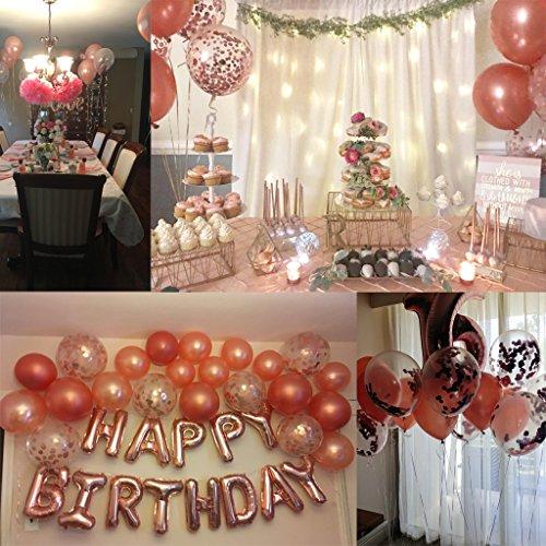 Ballon Set roségold | 30 Stück - 6