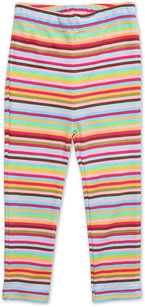 Zutano Baby Girls Rainbow Candy Stripe Skinny Legging