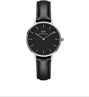Petite Sheffield Silver Watch, 28mm, Leather, for Men and Women