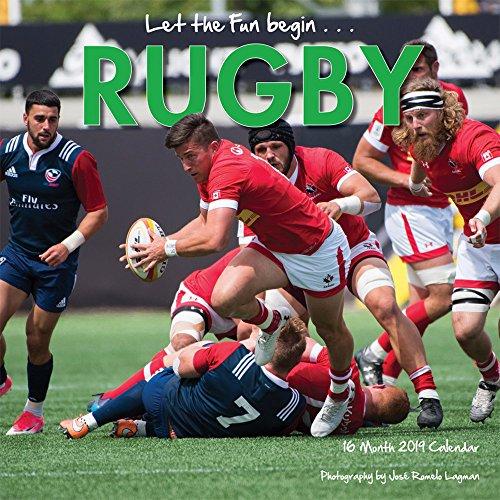 Rugby 2019 - 16-Monatskalender (Wall-Kalender)