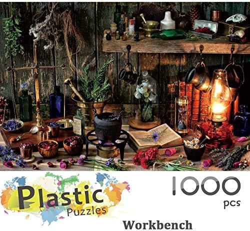 Puzzel van 1000 stukjes Werkbank puzzels voor kinderen en volwassenen, puzzelspellen voor het hele gezin, educatief speelgoed