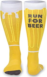 Knee High Half Cushioned Athletic Running Sock | Various Designs