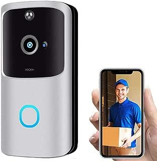 Beyonds Smart WiFi Door Bell, New Generation Intruder Alert Instant Motion Detector Night Vision 2 Way Voice Communication Home Surveillance Camera 166' Surround Vision