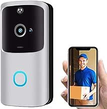 $25 » Beyonds Smart WiFi Door Bell, New Generation Intruder Alert Instant Motion Detector Night Vision 2 Way Voice Communication Home Surveillance Camera 166' Surround Vision