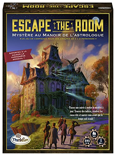 Ravensburger- Juego de Escape The Room Myst manoir, 76315