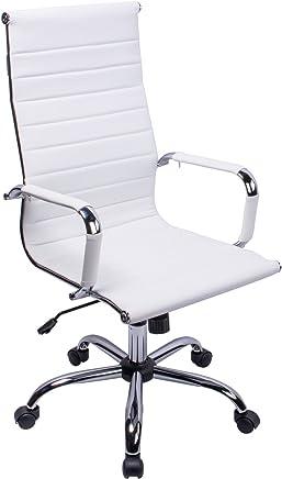 Amazon.es: silla oficina blanca - Sillas y sofás / Oficina ...