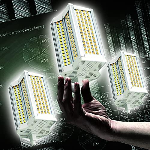 3-Pack Bombilla LED Regulable R7S, 50W / 118mm LED R7S Base de lámpara Luz de Reflector, Ángulo de Haz de 220 °, Blanco frío, 6000K Equivalente 500W Bombilla halógena J118