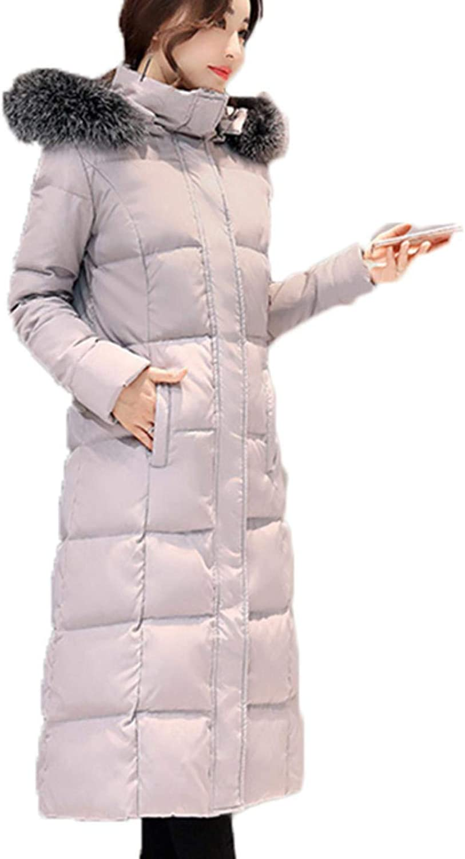CHANGYUGE Female Winter Down Jacket Long Wadded Down Coats