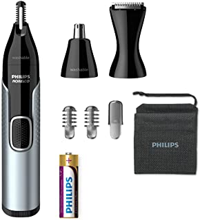 Philips Norelco Nose Trimmer, Black/Silver